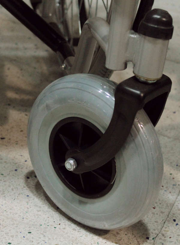silla de ruedas rueda