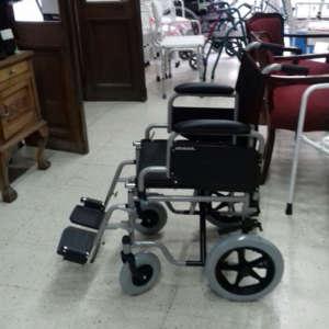 silla de ruedas de traslado