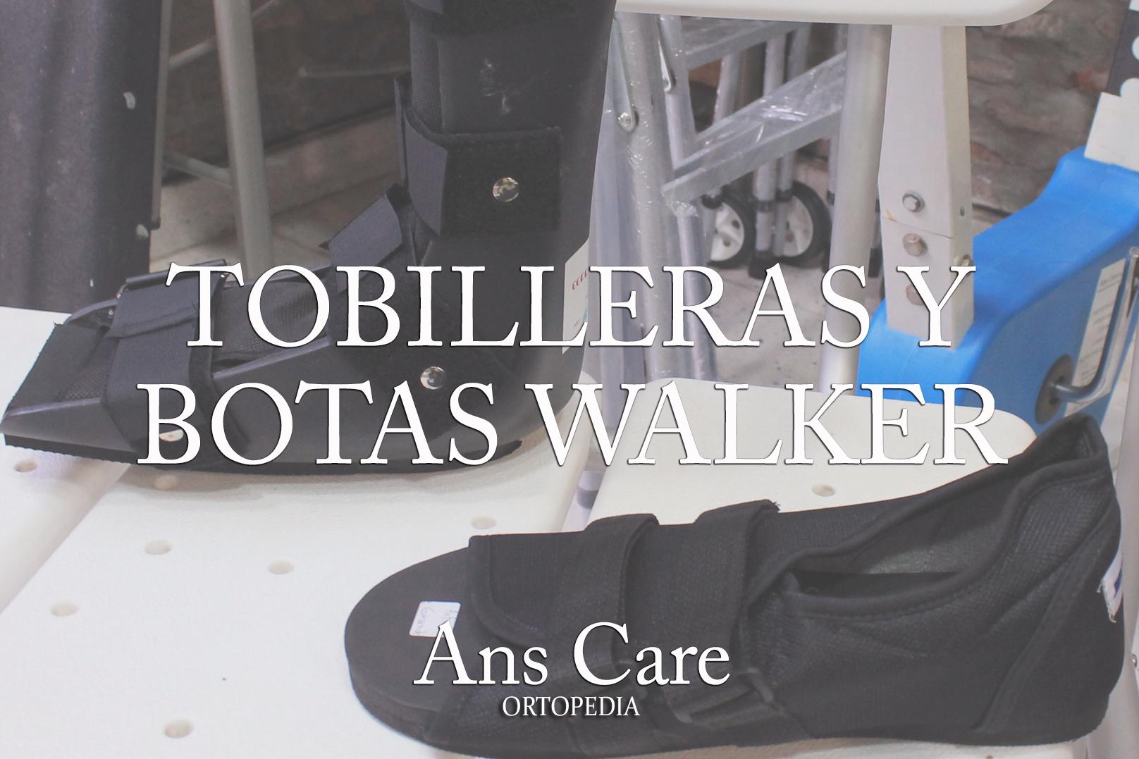 tobilleras y botas ortopedicas
