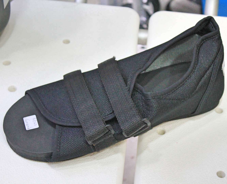 zapatilla ortopédica