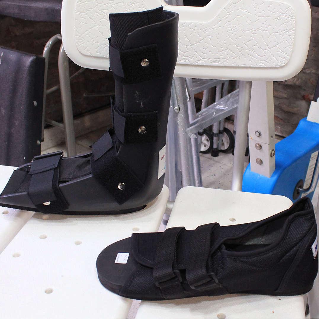 botas walker zapatillas post operatorias